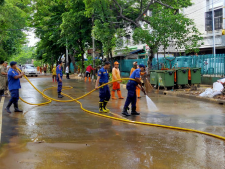 Flood Receded, Jalan Bungur Besar Raya Cleaned