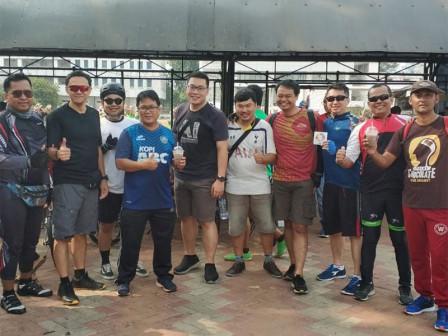 Komunitas Sepeda Gober Depok Apresiasi Uji Coba Jalur Sepeda Fase Dua