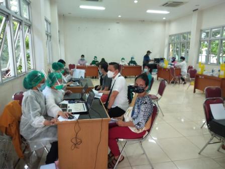 Vaksinasi COVID-19 di Pademangan Sasar 4.500 Warga