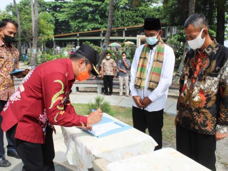 Ketua RT dan RW Terpilih Periode 2021-2024 Kelurahan Pulau Tidung Dilantik