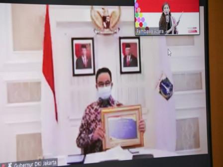 Anies Serahkan DIPA dan TKDD Lingkup Provinsi DKI Jakarta Tahun Anggaran 2020