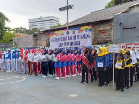 FORST Cabang Senam SKJ Tingkat Kecamatan Pasar Minggu Diikuti 119 Peserta