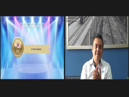 MRT Raih Dua Penghargaan di BUMD Marketeers Awards 2021