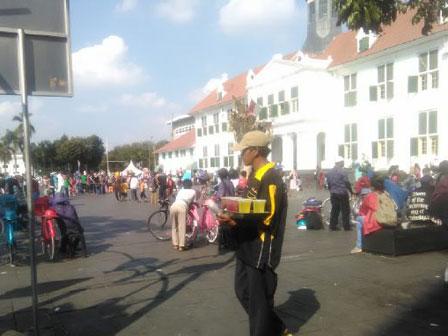 800 PKL Kota Tua Akan Direlokasi ke Jalan Cengkeh