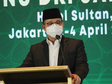 Hadiri Konferensi Wilayah PWNU DKI, Gubernur Anies Harapkan PWNU DKI Semakin Solid