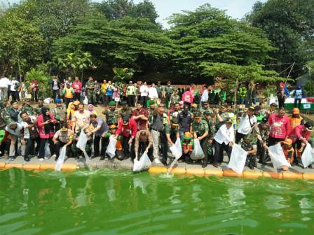 15 Thousand Tilapia Fingerlings Released at Setu Reservoir