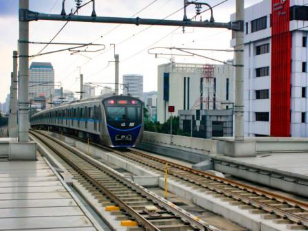 MRT Jakarta Ubah Jarak Antar Kereta Jadi 10 Menit