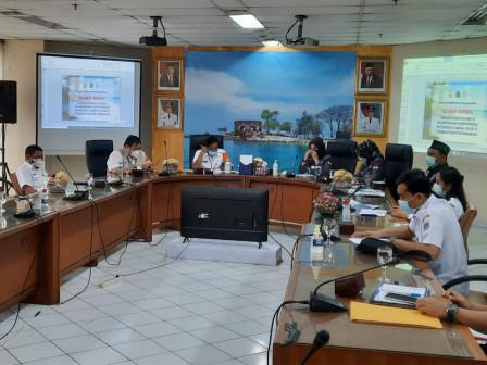 Pemkab - DPD RI Rakor Bahas Bidang Pariwisata di Kepulauan Seribu