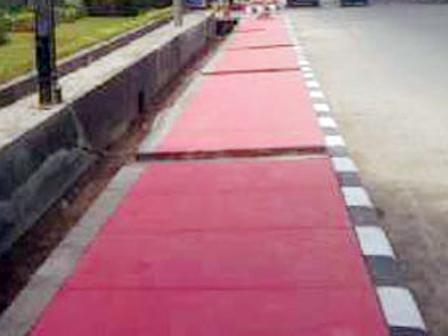 10 Disability-Friendly Sidewalks to Color East Jakarta