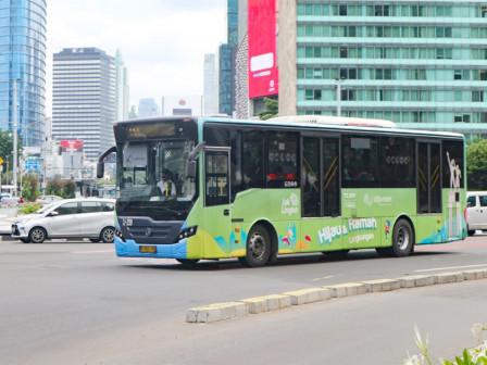 Transjakarta Returns to Operate Cibubur - BKN Route