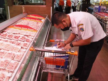 Pemkot Jaksel Sidak Pangan Pada Lima Pasar