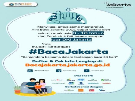 112 Warga Kepulauan Seribu Daftar Jadi Peserta Gerakan Baca Jakarta