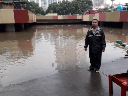 Inundation, Kemayoran Underpass Closed Temporarily