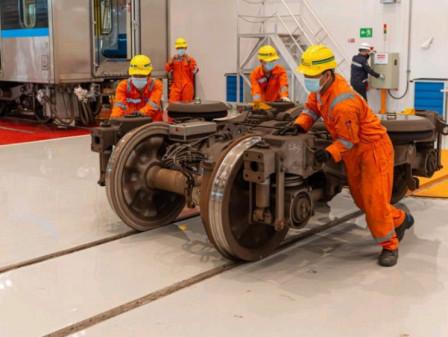 MRT Jakarta Uji Coba Perawatan Menyeluruh Ratangga
