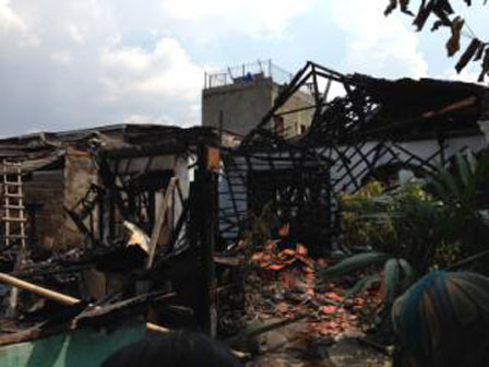 Fire Burnt 30 Semi-Permanent Houses