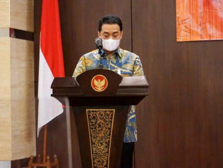 Wagub Ariza Hadiri Serah Terima Jabatan Kepala Perwakilan BPK DKI Jakarta