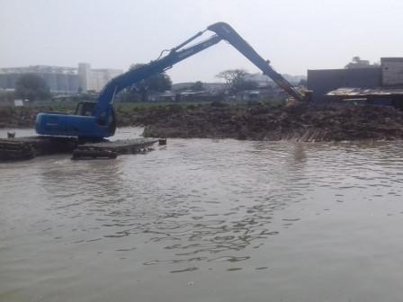 Pembangunan Embung Rawa Malang Ditargetkan Rampung Akhir Mei