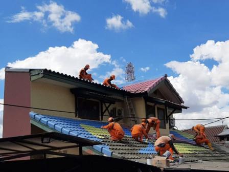 Residential Areas in Lenteng Agung Beautified