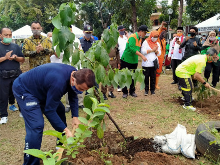 Commemorating Environment Day, Urban Farming Launched in Pulogebang