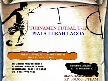 Kelurahan Lagoa bakal Gelar Turnamen Futsal Usia SD