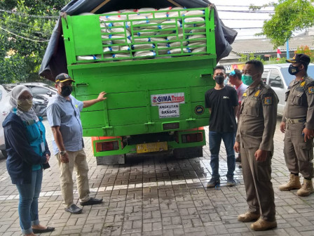 242.390 ton Beras Bantuan Sosial Pemprov DKI Jakarta Didistribusikan di Jakarta Barat