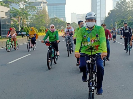 South Jakarta Prepares Five Car Free Day Locations