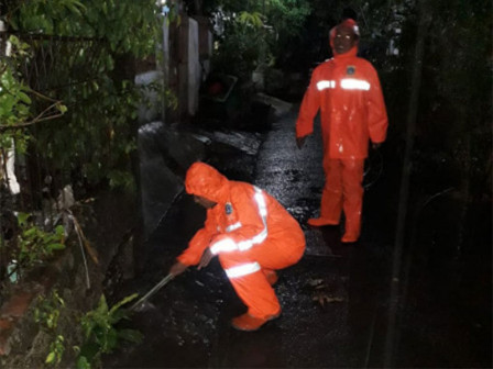 Tidal Floods in North Jakarta Have Receded