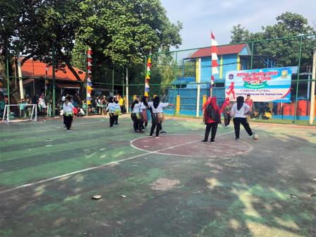 Kelurahan Pulau Untung Jawa Gelar FORST Cabor Futsal