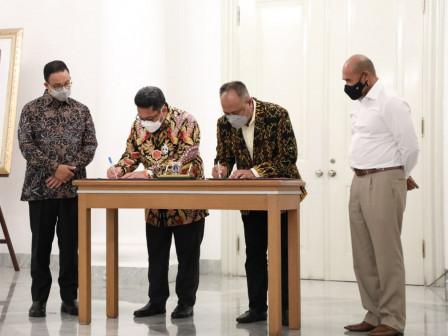 Jalin Kerjasama Dengan NTT, Gubernur Anies Ingin Berdayakan Kualitas Daging Sapi Lokal