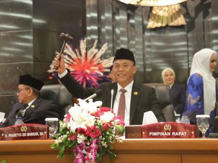 Again, Prasetio Edi Marsudi Serves as Chairman of Jakarta DPRD