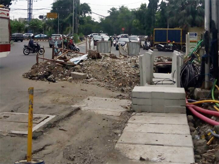 December, Channel Normalization Along Jalan Tanjung Duren Finished