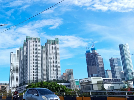 Afternoon, Partly Sunny in Most Jakarta Regions