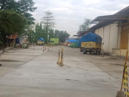 PT Food Station Berlakukan PSBB Ketat Dilingkunganya