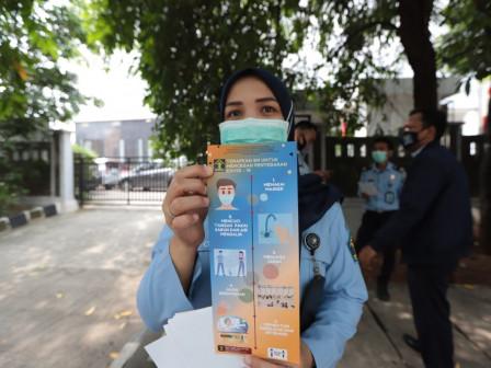 North Jakarta Administration Intensifies Health Protocols Socialization