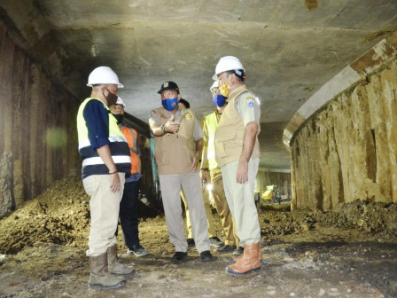Senen Extension Underpass Construction Has Reached 74 Percent