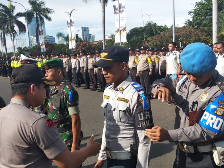 1,264 Joint Officers to Secure Christmas in N. Jakarta