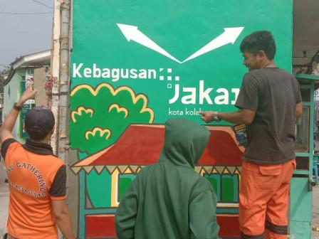 Kelurahan Kebagusan Miliki Tiga Mural Jakarta Kota Kolaborasi