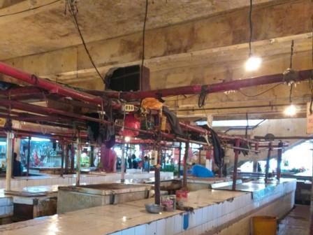 Daging Langka, Sudin KPKP Jaktim Sidak ke Lima Pasar Tradisional