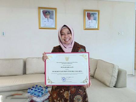 Pemprov DKI Jakarta Dapatkan Penghargaan HAM Dari Kemenkuham RI