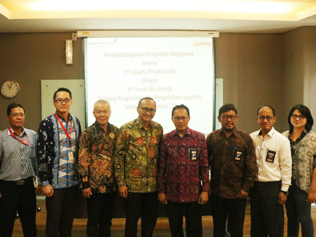 IT Field Collaboration Between Jamkrida Jakarta and Jakpro