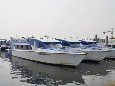 Dishub Hentikan Sementara Layanan Transportasi Kapal Penumpang Kepulauan Seribu