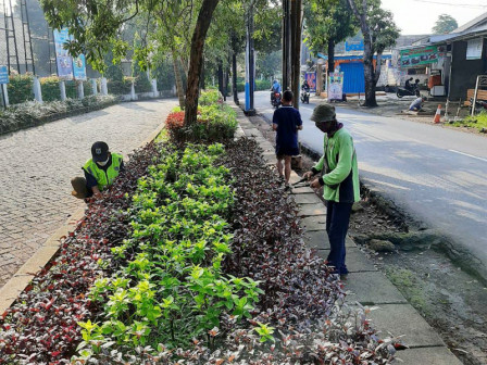 217 Parks in East Jakarta are Certainly Well Maintained