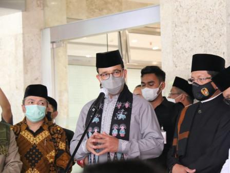 Jelang Ramadan, Gubernur Anies Imbau Pengurus Masjid Disiplin Protokol Kesehatan