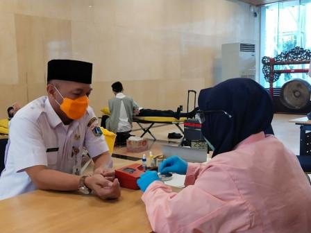 Jakarta Government Holds Blood Donation Activity