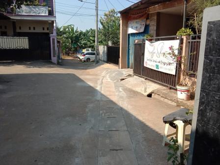 Sudin SDA Jaksel Tuntaskan Pembangunan Saluran di Jalan Gang Perintis