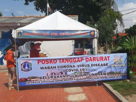 Untung Jawa Island Set Up COVID-19 Response Post
