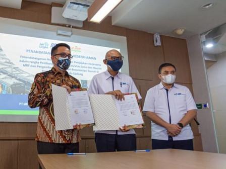 PT MRT Jakarta (Perseroda)-PT JIEP Bakal Bangun TOD di Kawasan Industri Pulogadung