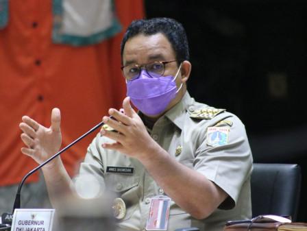PPKM Level 4 Diperpanjang, Gubernur Anies Ingatkan Warga Tetap Waspada