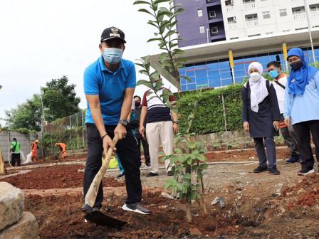 Central Jakarta Vice Mayor Monitors Rawasari Urban Forest Arrangement