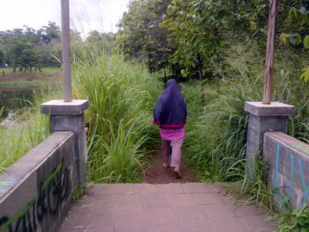 Taman Agrowisata Cilangkap Memprihatinkan